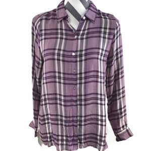 Jane And Delancey Tunic Button Down Shirt